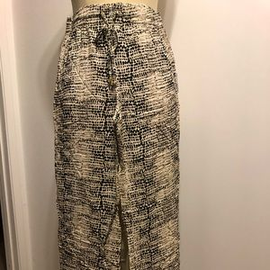 NWT Calvin Klein patterned trousers